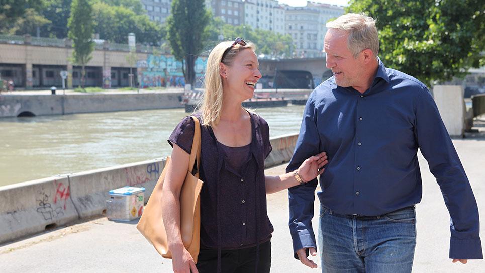 Szene aus Fluss des Lebens – Wiedersehen an der Donau