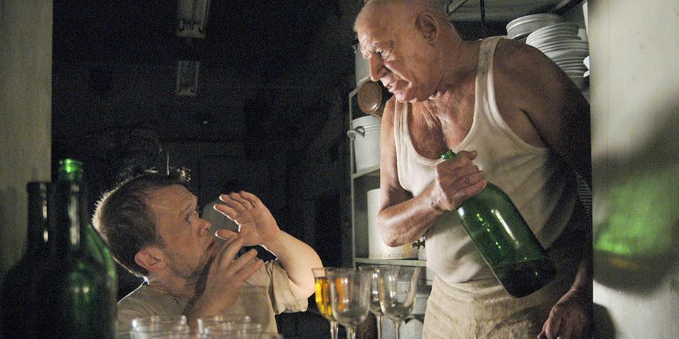 Szene aus Titus und Alfonso