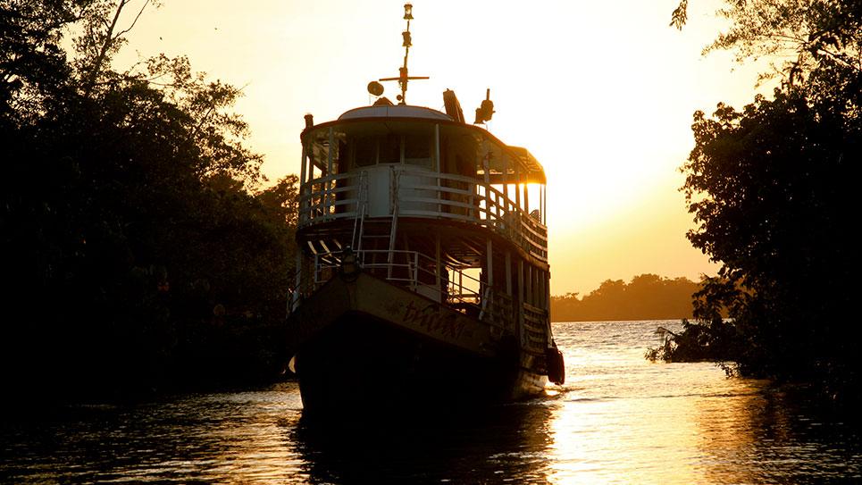 Szene aus Fluss des Lebens – Verloren am Amazonas