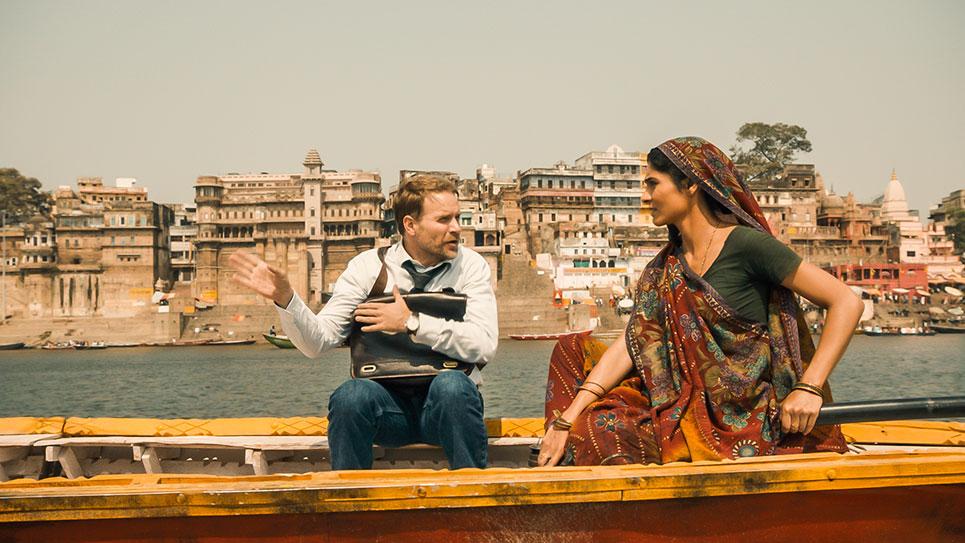 Szene aus Fluss des Lebens – Kind des Ganges
